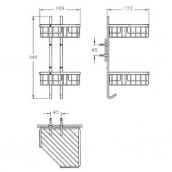 Artema Arkitekta Köşe Süngerlik - İkili - A44051