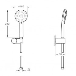 Artema Style X 3f El Duşu Takımı - A45609